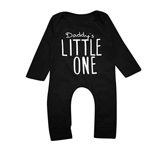 Qpika Newborn Infant Baby Set Boys Girls Outfits Grandpa in Heaven Letters Print Romper Jumpsuit -