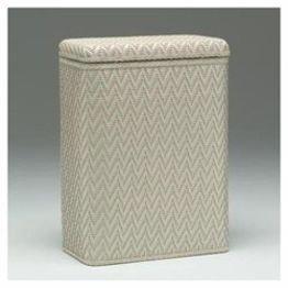 Elegante Collection Decorator Color Wicker Hamper 423CR