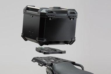 SW-MOTECH: TRAX ADV トップケースシステム Black Honda NC 750X / 750S (16-) [並行輸入品] B076VBRVCD