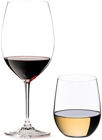 Riedel 8-Piece Vinum Bordeaux and O Viognier Glassware Set 7414//50