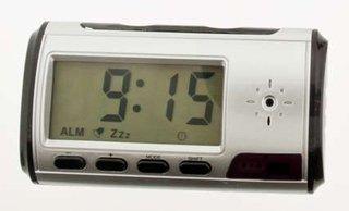 Mini Clock Recorder and Camera At Bugged.com