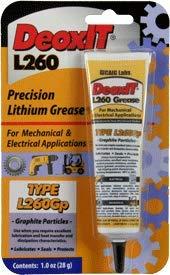 Deoxit L260Gp Grease w/Graphite Particles 1oz (28g) Squeeze Tube