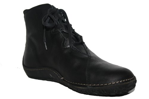 nbsp;rollo Zapatos Moc Up Leather Wolky 06200 Black 50000 Lace comodidad xqw1t7tXZ
