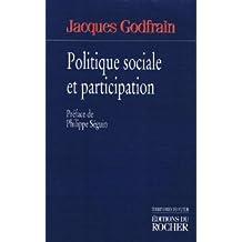 POLITIQUE SOCIALE ET PARTICIPATION
