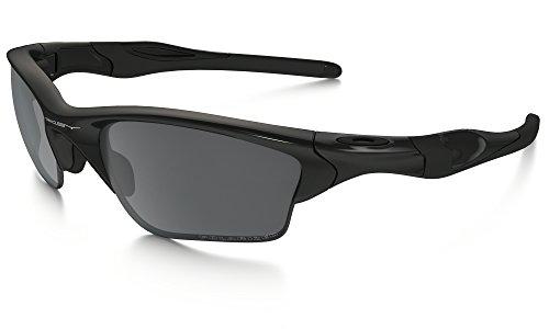 Oakley Half Jacket 2.0 XL Sunglasses Pol BLK / BLK Irid. Pol. & Care Kit - Jacket Half Polarized Oakley