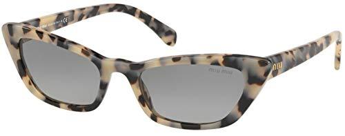 Miu Miu SMU 10U BEIGE HAVANA/GREY SHADED 53/19/140 women Sunglasses