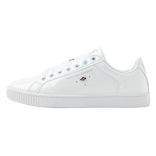 British Weiß Duke Knights Weiß Low von Damen Top für Sneaker CxTtx6FZqw