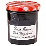 Bonne Maman Black Cherry Spread, 7.9 Ounce - 6 per case.