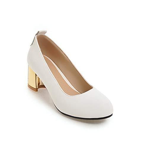 Sandales Compensées Blanc Blanc 5 AN 36 Femme DGU00648 5EzwnwxqR
