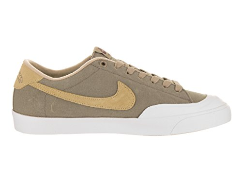Nike Uomo All Court Ck Khaki / Muchroom White Skate Shoe 10.5 Uomo Stati Uniti