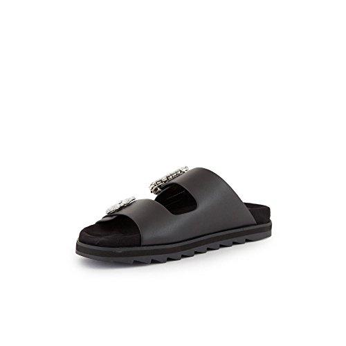 GUESS Zapatillas Para Deportes de Exterior de Material Sintético Para Mujer Negro Negro 37 EU Negro\r\n