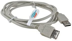 M to USB 2.0 A 6 USB 2.0 A F Beige Extension Cable
