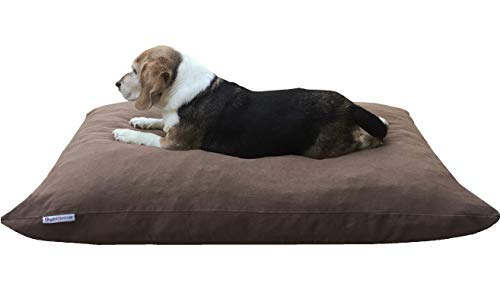 Dogbed4less Do It Yourself DIY Pet Bed Pillow Duvet Denim Cover + Waterproof Internal case for Dog/Cat at Large 36