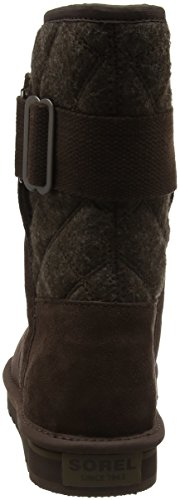 Sorel Newbie NL2068 - Botas para mujer Marrón (Hawk, Saddle 248Hawk, Saddle 248)