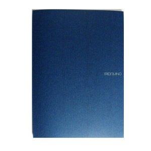 Fabriano EcoQua Notebooks staplebound blank navy 8.25 x 11.7 in.