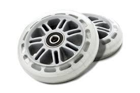 Razor Scooter 98mm Wheels - Clear Light Up