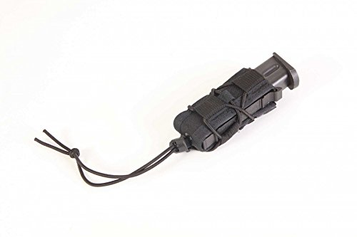 Molle Single Pistol - High Speed Gear Pistol Taco Mag Pouch ~ Black, 1 Pack