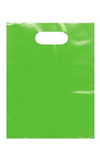 Bulk Lime Green Low Density Merchandise Bags 9x12in [set of 1000]