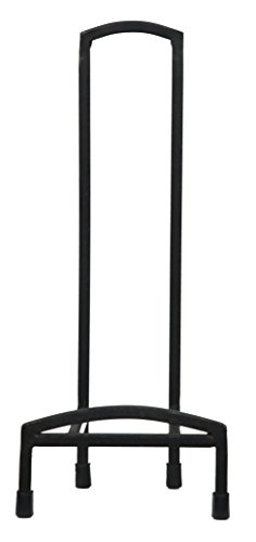 - Pinnacle Frames and Accents Black Iron Chair Easel Display Stand, 15 Inches,