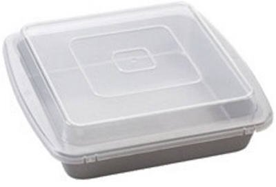 Wilton Recipe Right Square 9 x 9 Inch Covered Pan