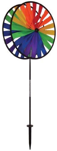 Spinner Garden Wheel (In the Breeze Rainbow Duo Wheels Garden Spinner)