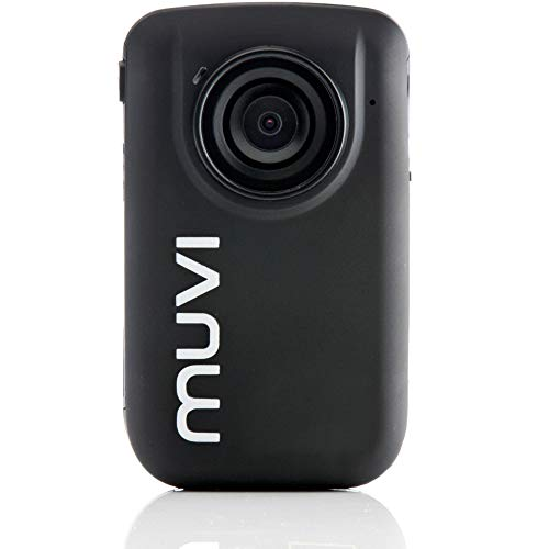Veho VCC-005-MUVI-HD10 Mini Handsfree Action Cam with Wireless Remote, 4GB Memory, and Helmet Mounting Bracket