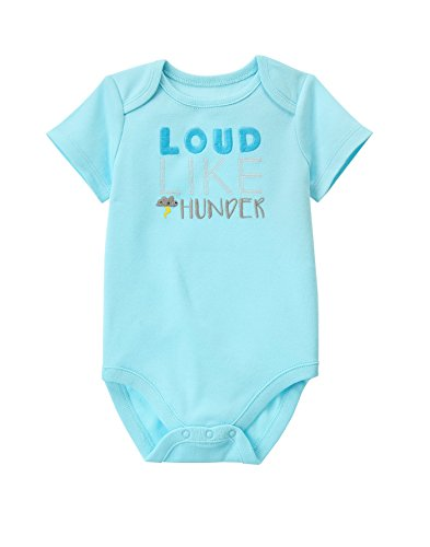 - Gymboree Baby Infant Sweet Printed Bodysuits, Thunder, 12-18 Months