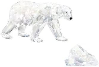 2011 Swarovski Club Piece SIKU Polar Bear With Title Plaque
