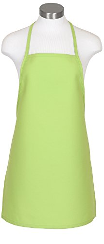 Fame Adult's Cover Up-Bib Apron-Lime-O/S