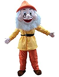 7 Dwarfs Of Snow White Mascot Costume Cosplay Fancy Dress Outfit