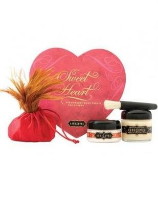 Kama Sutra Sweet Heart Strawberry Body Treats Gift Set