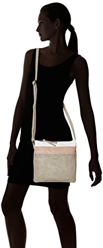 Tamaris Grigio Light Donna Comb Bag Grey Khema Crossbody tracolla Borse a rqrHyPv