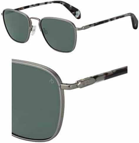 a992ccfc450 Sunglasses Rag and Bone Rnb 5017  S 0R81 Matte Ruthenium QT green lens