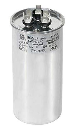 Find A temperatura 5UF//5MFD Microfarad Motor Run inizio condensatore