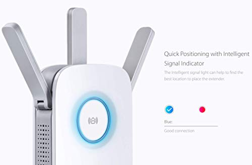 TPLink  PCMag Editor Choice  AC1750 Wifi Range Extender  Up to 1750Mbps  Dual Band Repeater Internet Booster Access Point  Extend Wifi Signal to Smart Home amp Alexa Devices RE450
