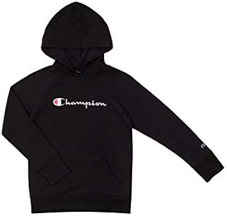 Champion Kids Clothes Sweatshirts Girls Youth Heritage Fleece Pull On Hoody Sweatshirt with Hood