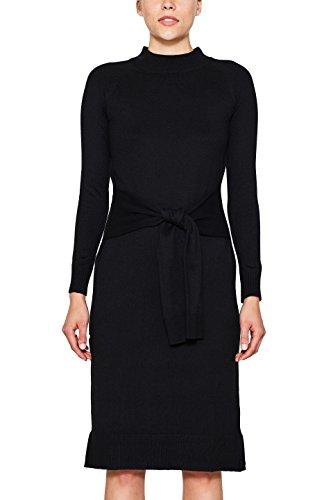 001 ESPRIT edc by Schwarz Black Damen Kleid 5wYwq6