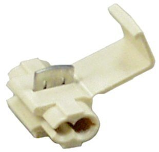 3M(TM) Scotchlok(TM) Electrical IDC 564-BULK, Double Run, White, 18-14 AWG, (Pack of 500)