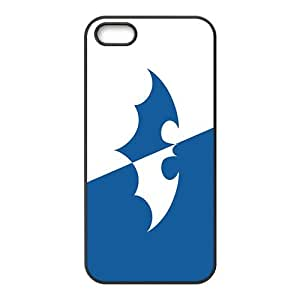 Cool-Benz Fresh blue and white Batman Phone case for iPhone 5s