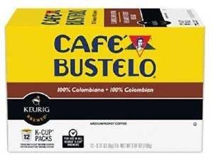 Café Bustelo 100 % Colombian Coffee 96 K Cup Packs (Cafe Bustelo Keurig)