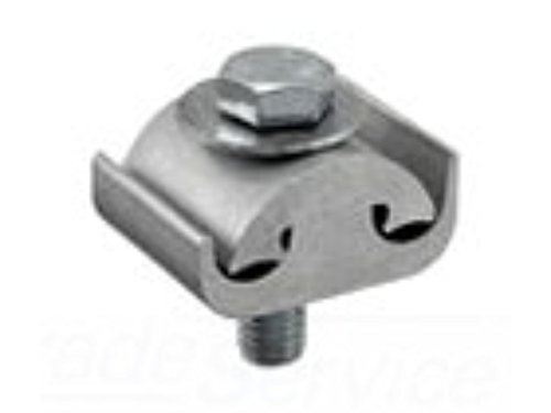 Parallel Groove Clamps (Ilsco PG620-S-Z PG Dual Rated Parallel Groove Clamp 2/0-6 AWG Solid Aluminum Alloy)
