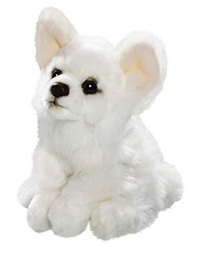 Amazon Com Carl Dick Chihuahua White Sitting Dog 6 5 Inches 17cm