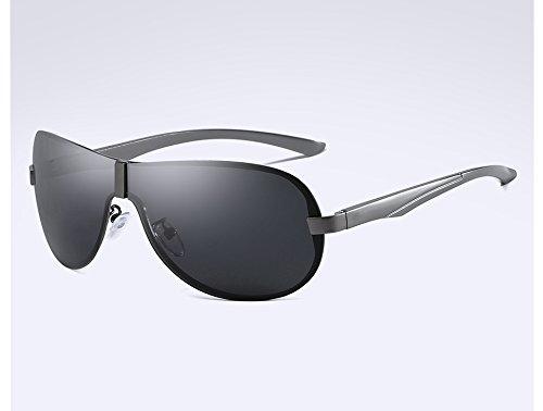 Masculina Gafas de Hombres Sol Gafas gray Sol Gafas Gafas Viajes Visión TL Nocturna polarizadas Sol Sol de Sunglasses gray Gris Hombre Guía para de de xwzTCqH