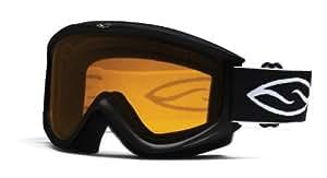Smith Optics CN2LBK10 Cascade Classic Goggle Black Frame/Gold Lite Lens