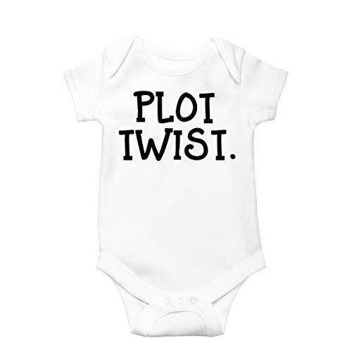 Olive Loves Apple Plot Twist Baby Bodysuit Surprise Pregnancy Announcement Grandparents Pregnancy Reveal Gift