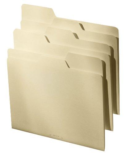 Find It All Tab File Folders Letter Size Third Cut, 9 Folders per Pack, - Manila (FT07057)
