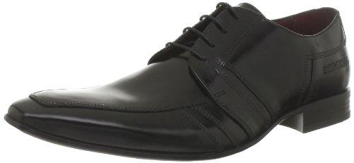 Redskins - Zapatos de cordones de cuero para hombre Negro (Noir)