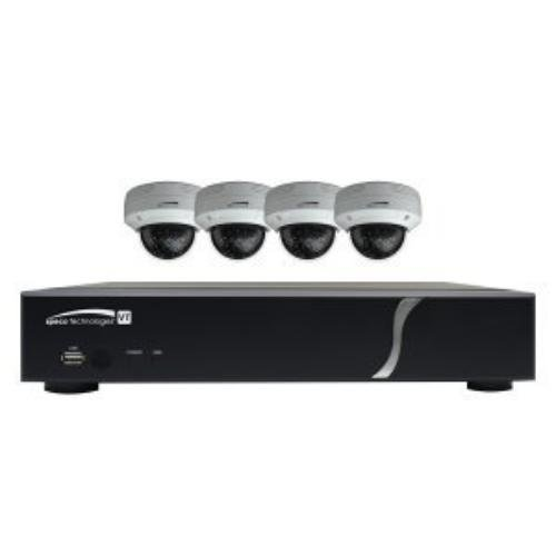 Speco SPC-ZIPT4D1 4 Channel TVI DVR Dome ()