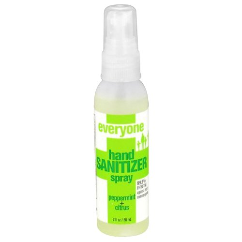 (EO Products Hand Sanitizer Spray for Everyone, Peppermint, 2 Fluid Ounce)