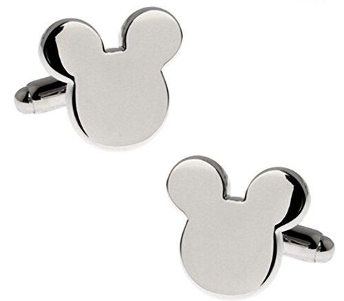 Disney Mickey Mouse Cufflinks w/Gift Box By Athena